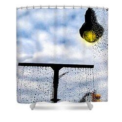 Molly's Window Shower Curtain by Bob Orsillo