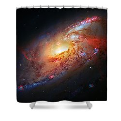 Molten Galaxy Shower Curtain