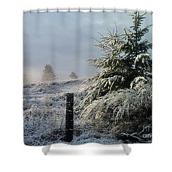 Moment Of Peace Shower Curtain by Rory Sagner