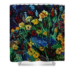 Moms Garden II Shower Curtain