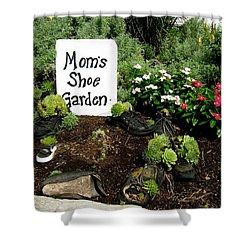 Moms Shoe Garden Shower Curtain
