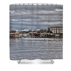 Monastery From The River Shower Curtain
