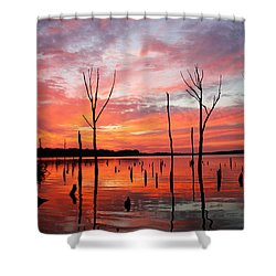 Monday Morning Shower Curtain