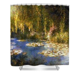 Monet After Midnight Shower Curtain