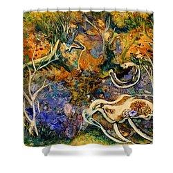 Monet Under Water Shower Curtain