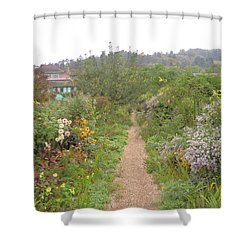 Monet's Garden 5 Shower Curtain