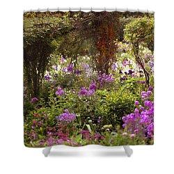 Monet's Garden - Impression Shower Curtain