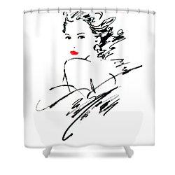 Monique Variant 1 Shower Curtain by Giannelli