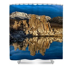 Mono Lake In March Shower Curtain