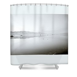 Mono Lake Serenity Shower Curtain by Shaun Higson