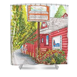 Mono Market Near Mono Lake In Lee Vining-california Shower Curtain