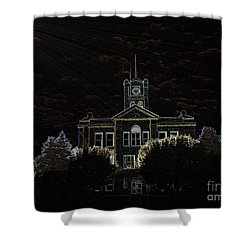Monroe County Courthouse Shower Curtain