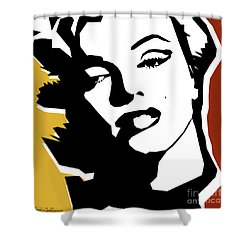 Monroe Shower Curtain by Mark Ashkenazi