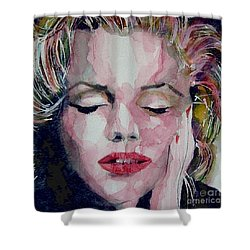 Monroe No 6 Shower Curtain by Paul Lovering