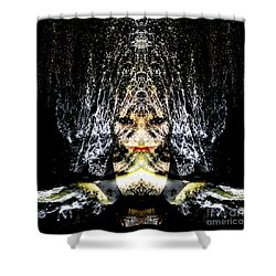 Shower Curtain featuring the photograph Monsoon by Heather King
