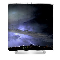 Monsoon Lightning Shower Curtain