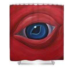 Monstrosity Shower Curtain by Sven Fischer