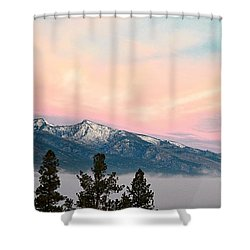 Montana Morning Shower Curtain by Joseph J Stevens