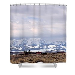 Montana Ranch 2 Shower Curtain
