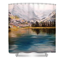 Montana Reflections Shower Curtain
