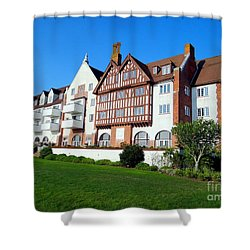 Montauk Manor Shower Curtain