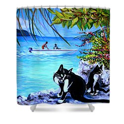 Montego Bay. Part One Shower Curtain