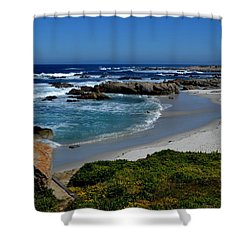 Shower Curtain featuring the photograph Monterey-1 by Dean Ferreira