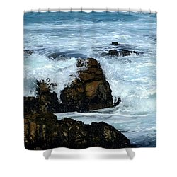 Shower Curtain featuring the photograph Monterey-2 by Dean Ferreira