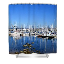 Shower Curtain featuring the photograph Monterey-7 by Dean Ferreira