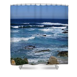 Shower Curtain featuring the photograph Monterey-9 by Dean Ferreira