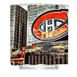 Montreal C Shower Curtain by Alice Gipson