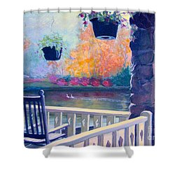 Montreat Porch Shower Curtain