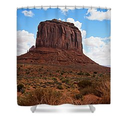 Monument Valley Monolith West Mitten Butte Shower Curtain