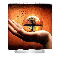 Mood Pic Shower Curtain by Mark Ashkenazi