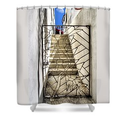 Moon And Gate Shower Curtain