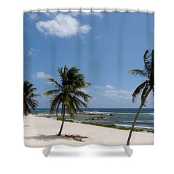 Shower Curtain featuring the photograph Moon Bay by Amar Sheow