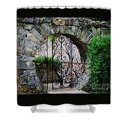 Moon Gate In Hamilton 1 Shower Curtain by Marcus Dagan