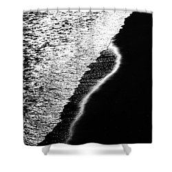 Moon Light  Rhapsody Shower Curtain by Bob Orsillo