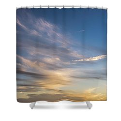 Moon Over Doheny Shower Curtain