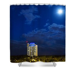 Moon Over Ft. Lauderdale Shower Curtain