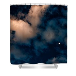 Moon Over Maui   Shower Curtain