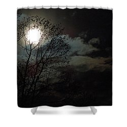 Moon Rise Shower Curtain