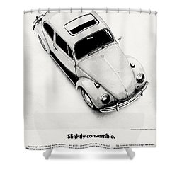 Shower Curtain featuring the photograph Moon Roof by Benjamin Yeager