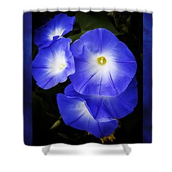 Moonglow On Blue Shower Curtain