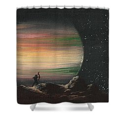 Moonhunter Shower Curtain