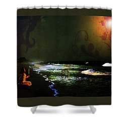 Hope In The Darkness Shower Curtain
