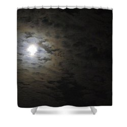 Shower Curtain featuring the photograph Moonlight by Marilyn Wilson