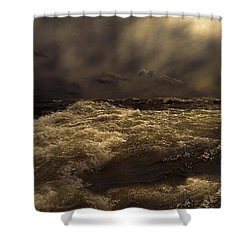 Moonlight On The Water Shower Curtain by Bob Orsillo