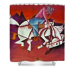 Moonlight Ride Shower Curtain