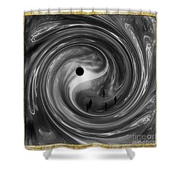 Moonlight Walkers Shower Curtain